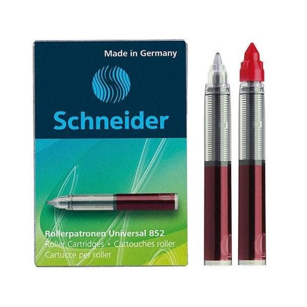 SCHNEIDER 50-185202 M 5St Tintenpatrone 852 rot
