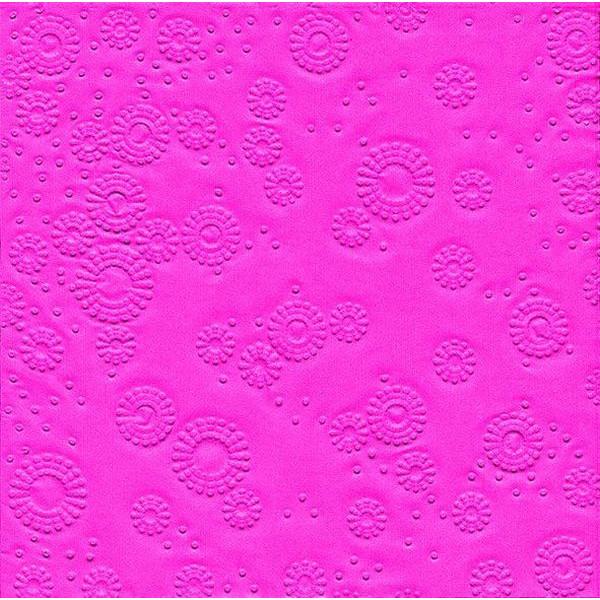 PAPER+DESIGN 24016 33 cm Serviette Zelltuch pink