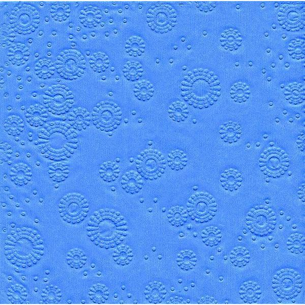PAPER+DESIGN 24020 33 cm Serviette Zelltuch light blue