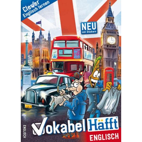 HÄFFT Vokabelheft Vokabel-Häfft Englisch A5 +Tipps 34 Blatt
