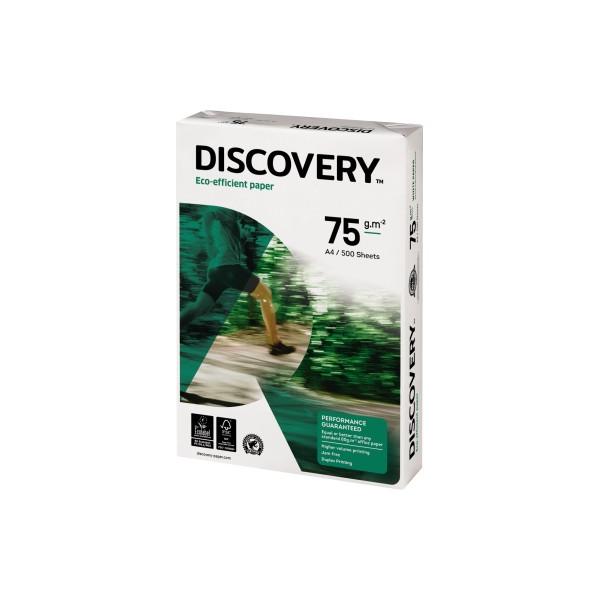 DISCOVERY A4 75g 4-fach gelocht Kopierpapier weiß 500 Blatt