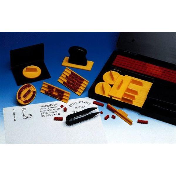 WEDO 66416 4mm+5mm Typendruckerei 323typ