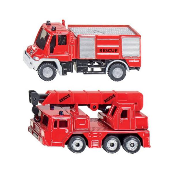 SIKU 1661 Feuerwehr-Set