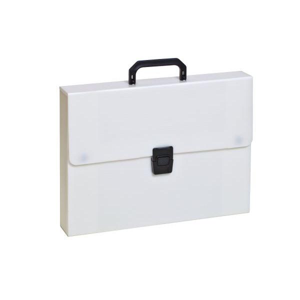 RUMOLD 370106 380x50x280mm Zeichenkoffer Plastik weiß