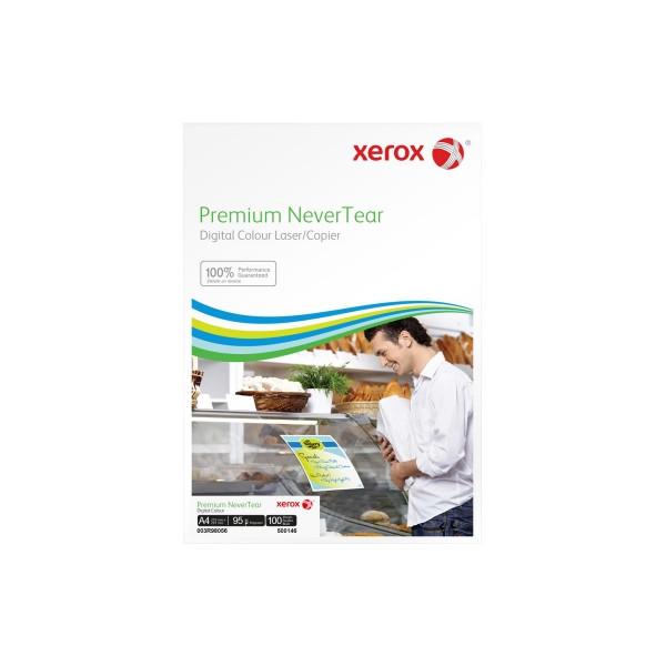 XEROX Kopierfolie 003R98056, A4, für S/W-Laserdrucker, Farb-Laserdrucker, S/W-Kopierer, Farb-Kopierer, 0,095mm, hochweiß, 100 Blatt