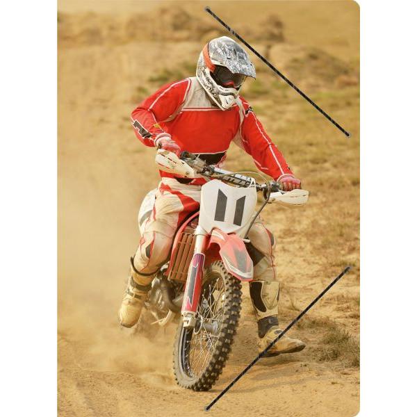 RNK 4624 24x33cm Zeichenmappe A4 Motocross