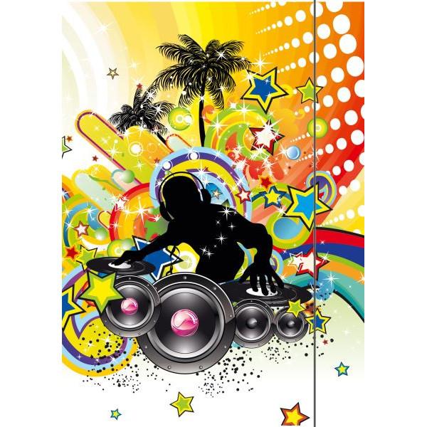 RNK 4537 Zeichenmappe A3 Music