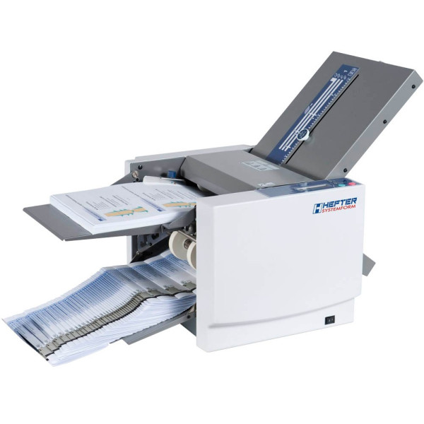HEFTER Systemform Falzmaschine TF MEGA-S, für A4, bis 200 Blatt, 4 Falzarten,