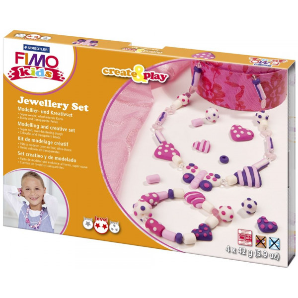 Staedtler 8033-01 Create&Play Modellierset Fimo Kids Hearts