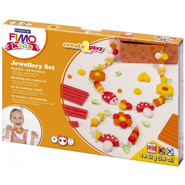 Staedtler 8033-02 Create&Play Modellierset Fimo Kids Flower