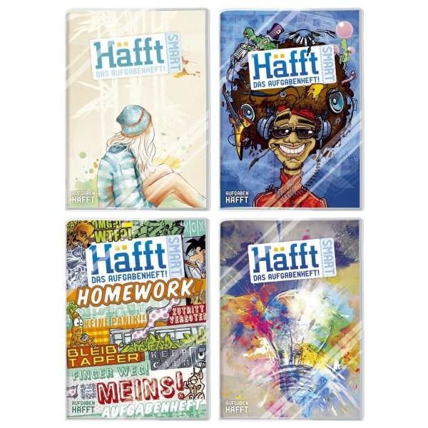 HÄFFT Hausaufgabenheft Smart A5 48 Wochen 56 Blatt 2317-1