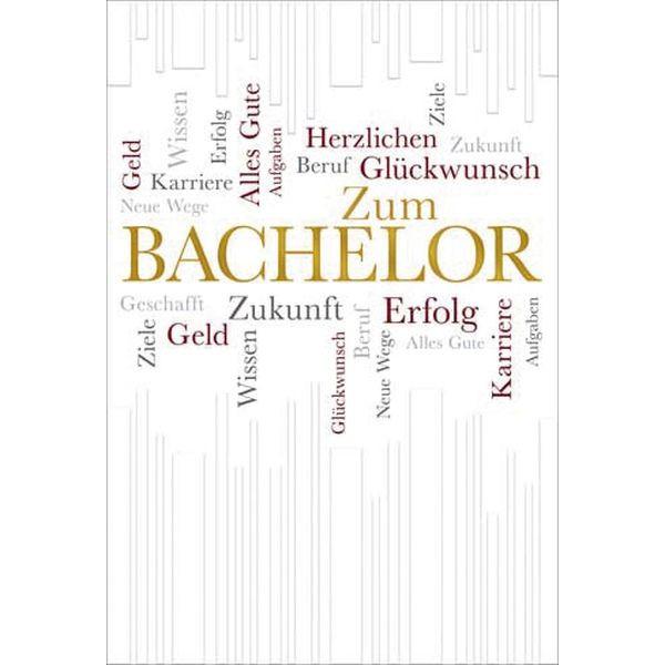 63-201400 Schrift Bachelorkarte