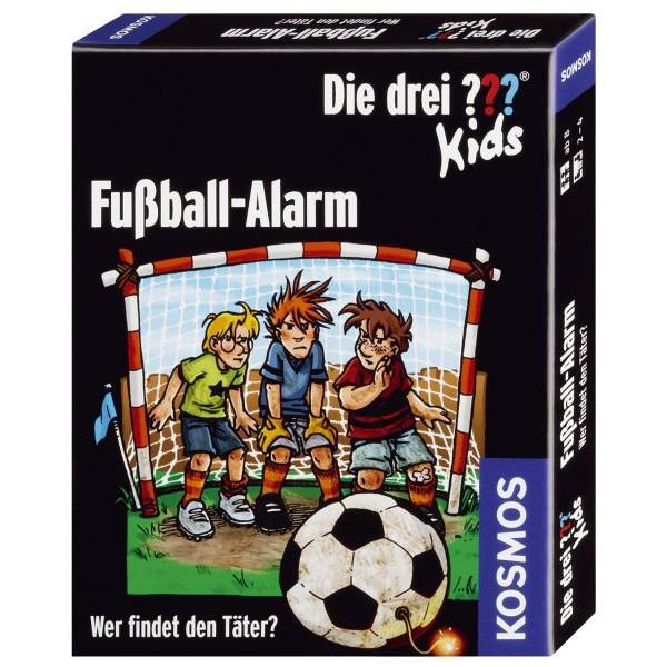 KOSMOS 741518 Fußball-Alarm Kartenspiel Die drei ??? Kids