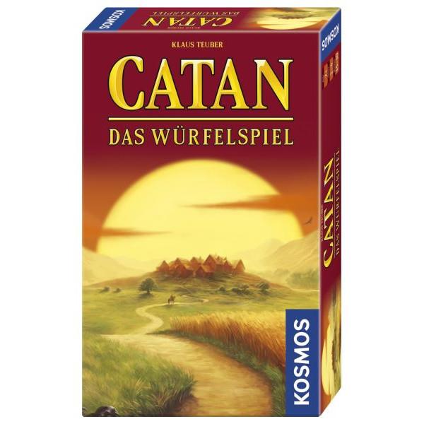 KOSMOS 699093 Das Würfelspiel Mitbringspiel Catan