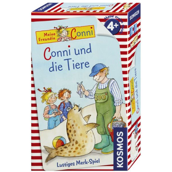 KOSMOS 710989 Mitbringspiel Conni und die Tiere