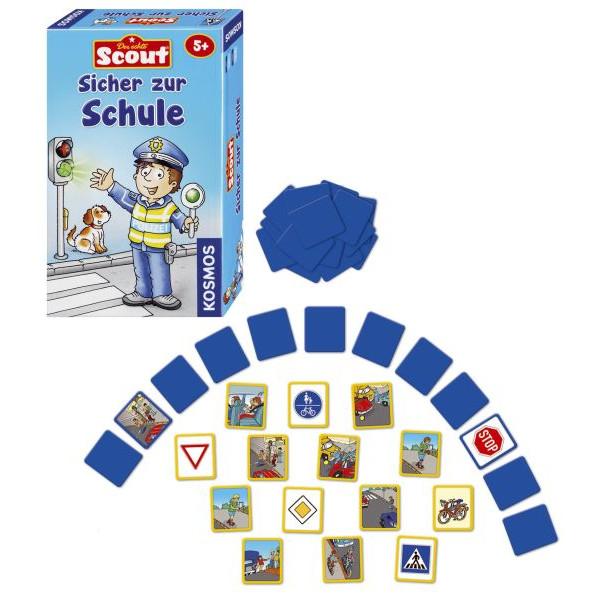 KOSMOS 710538 Sicher zur Schule Mitbringspiel Scout