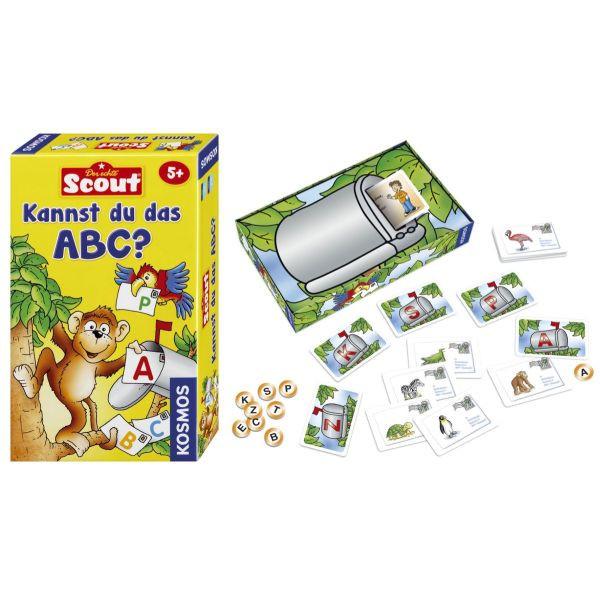 KOSMOS 710521 Kennst du das ABC? Mitbringspiel Scout
