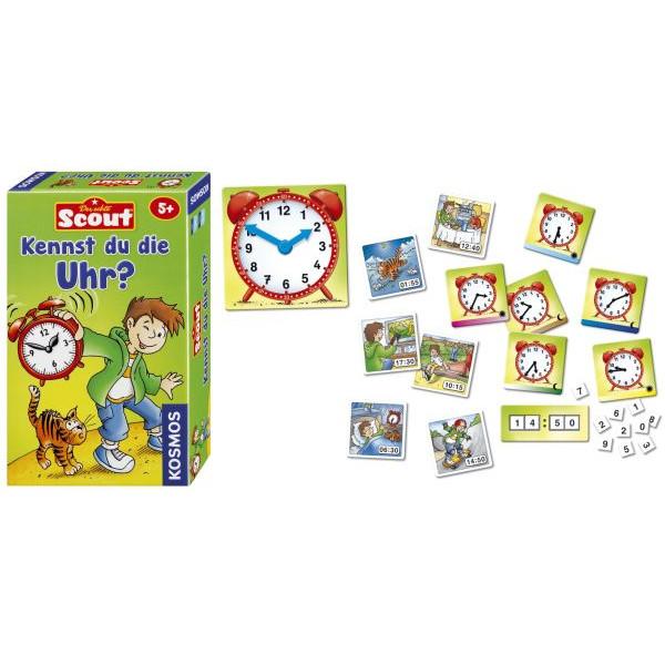 KOSMOS 710545 Kennst du die Uhr? Mitbringspiel Scout