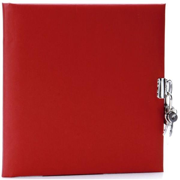 GOLDBUCH 44047 16,5x16,5cm Tagebuch Seda rot