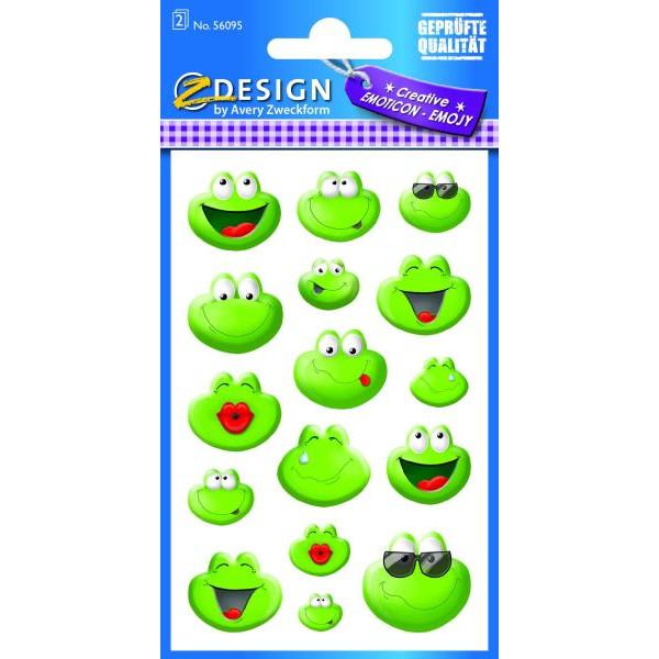Zweckform 56095 Sticker Frosch