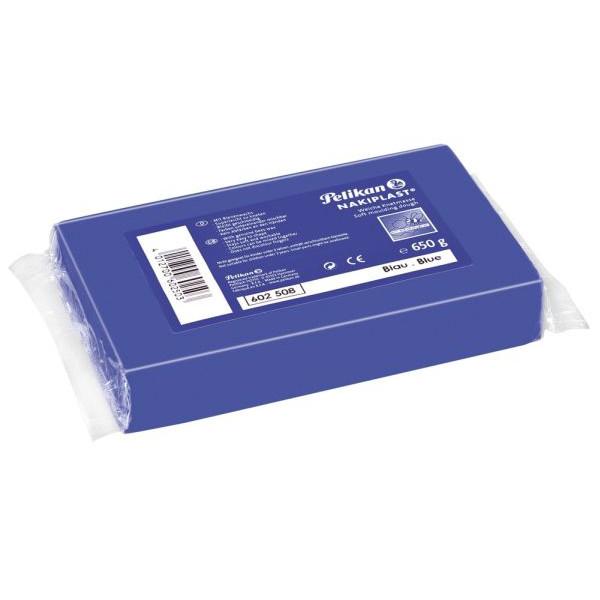 PELIKAN 602508 650g 681 Modelliermasse Nakiplast blau