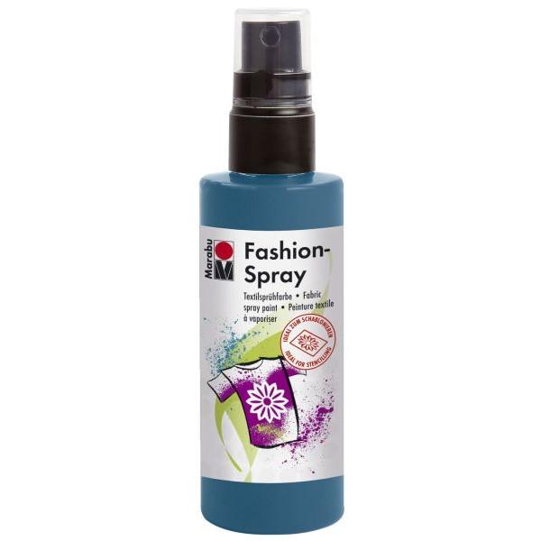 MARABU Textilspray Fashion Spray 17190 050 092, petrol, 100ml