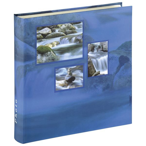 HAMA 106255 30x30cm Fotobuch Singo blau