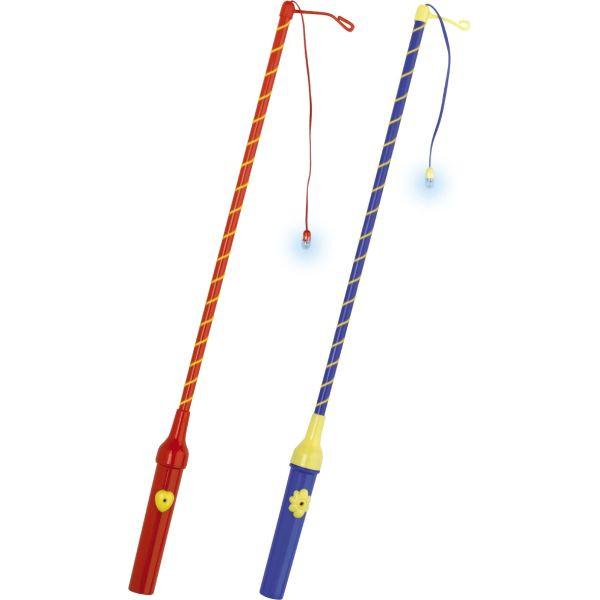 amscan Laternenstab 150004 elektrisch 30cm farbig sortiert