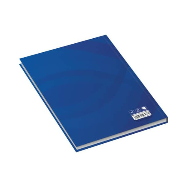RNK 46486 96Bl liniert Notizbuch A5 Business blau