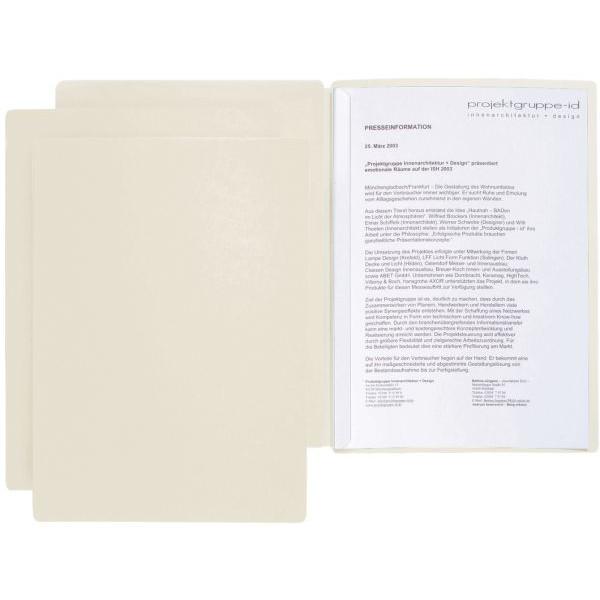 PAGNA 22008 09 2tlg Präsentationsmappe Star beige