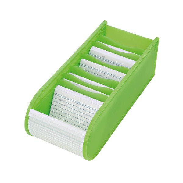 WEDO 250 8011 Lernkartei A8 grün
