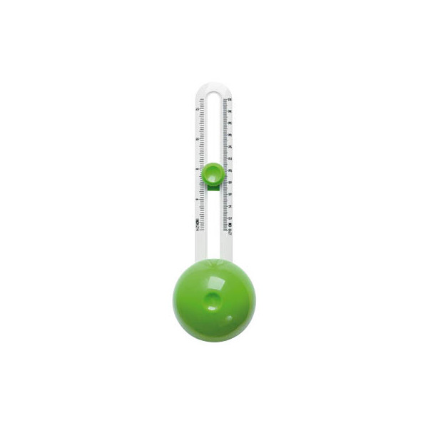 WEDO 79 9500 Comfortline Kreisschneider grün/weiss
