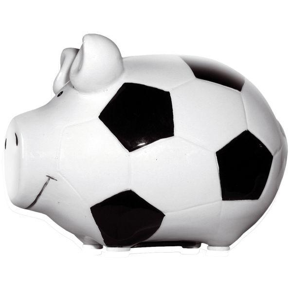 KCG 100862 Fussballschwein Spardose Schwein klein