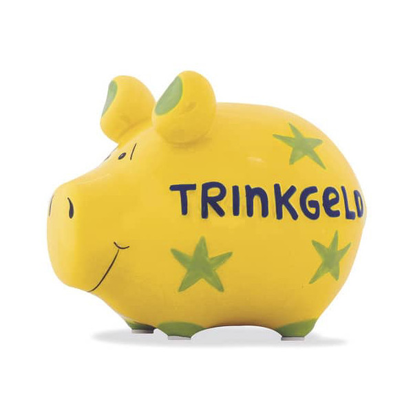KCG 100031 Trinkgeld Spardose Schwein klein