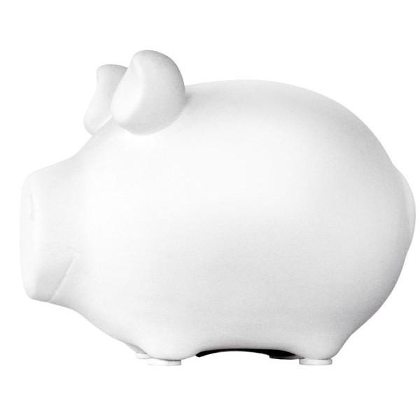 KCG 100570 blanco Spardose Schwein weiß