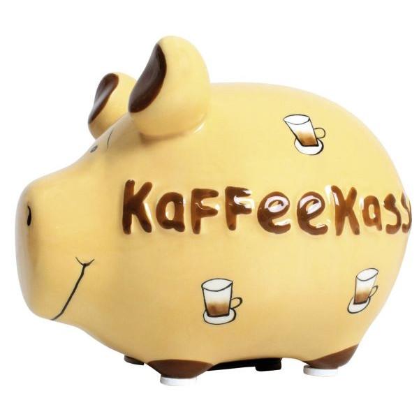 KCG 100046 Kaffeekasse Spardose Schwein klein