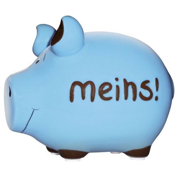 KCG 101137 Meins! Spardose Schwein klein