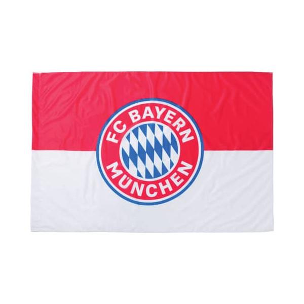 Fc Bayern Fahne 150x100cm ohne Stock mit Logo rot/weiß