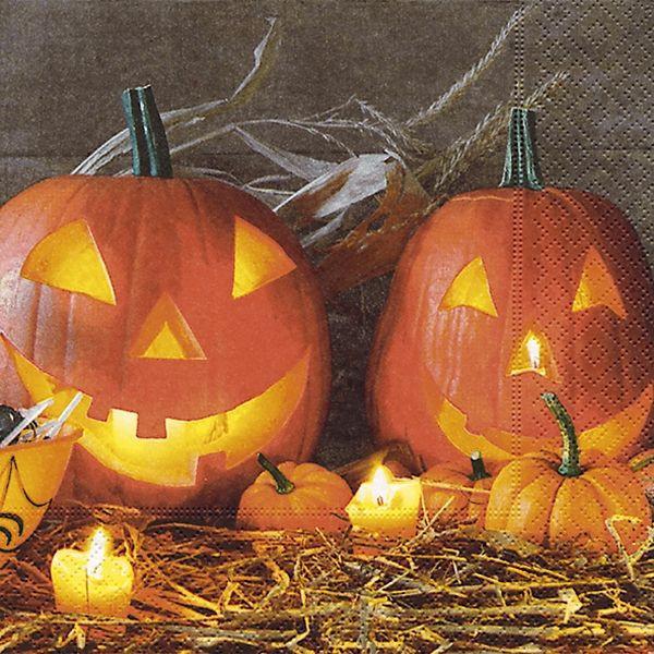 PAPER+DESIGN 22000 33 cm 3lag Motivserviette Halloween