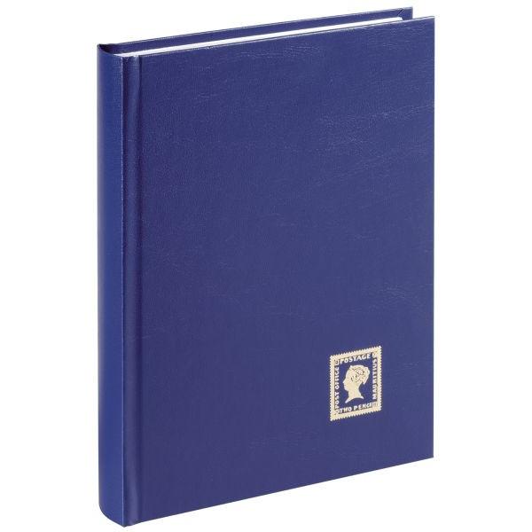 PAGNA 30101-07 Briefmarkenalbum A5 32 Seiten blau