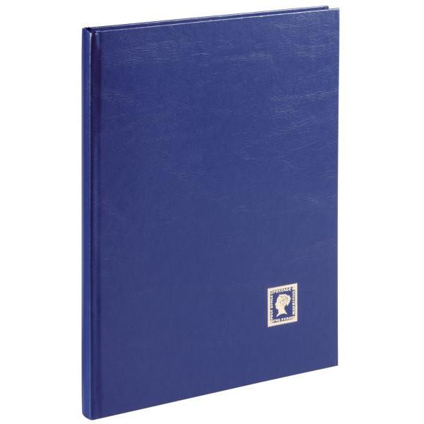 PAGNA 30124-07 Briefmarkenalbum A4 16 Seiten blau