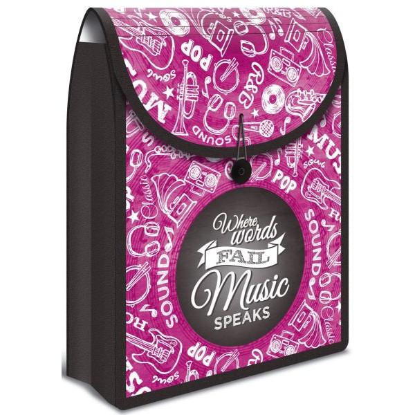Herma Collegetasche Flexi Bag - A4, pink