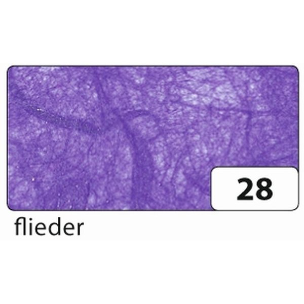 Folia Strohseide - 47 x 64 cm, flieder