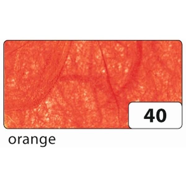 Folia Strohseide - 47 x 64 cm, orange