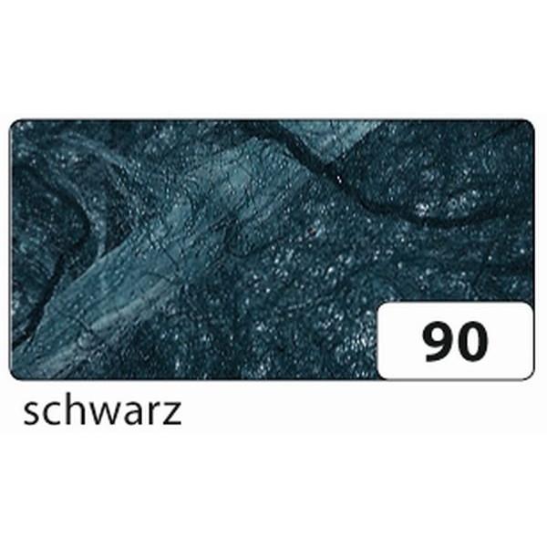 Folia Strohseide - 47 x 64 cm, schwarz