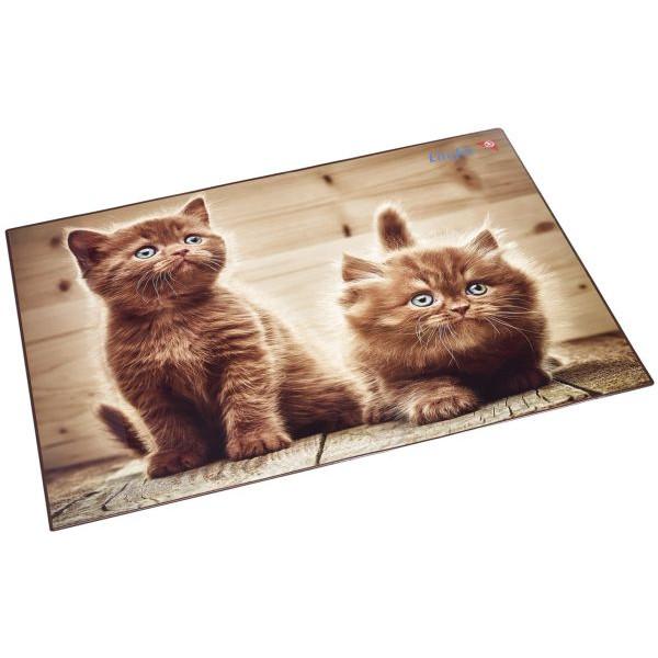 Läufer Schreibunterlage Motiv Kätzchen