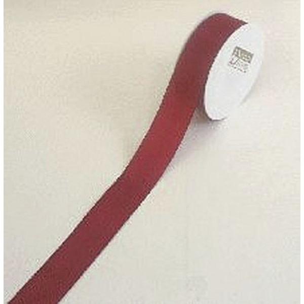 Goldina Geschenkband Taftband 40mm x 50m dunkelrot