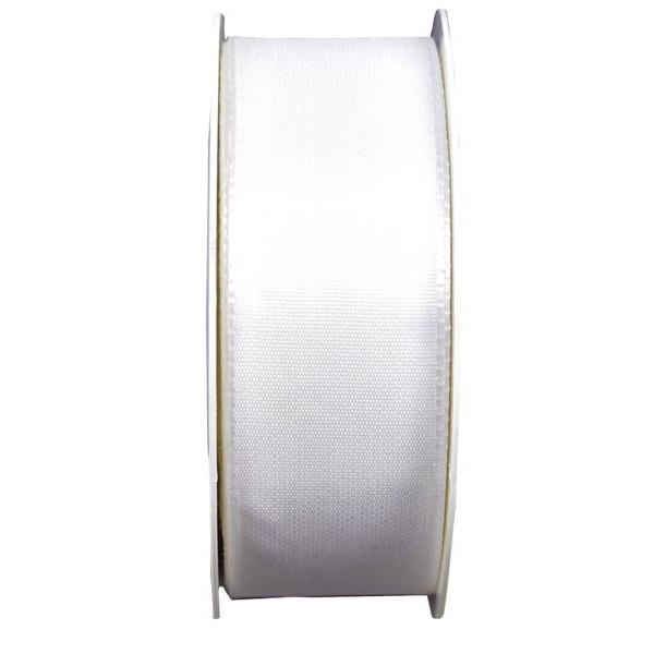 Goldina Geschenkband Taftband 40mm x 50m weiß