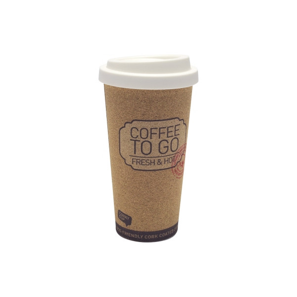 Becher Coffee to go Kork Cup