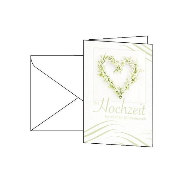 Sigel Karten Hochzeit DS042 VE10